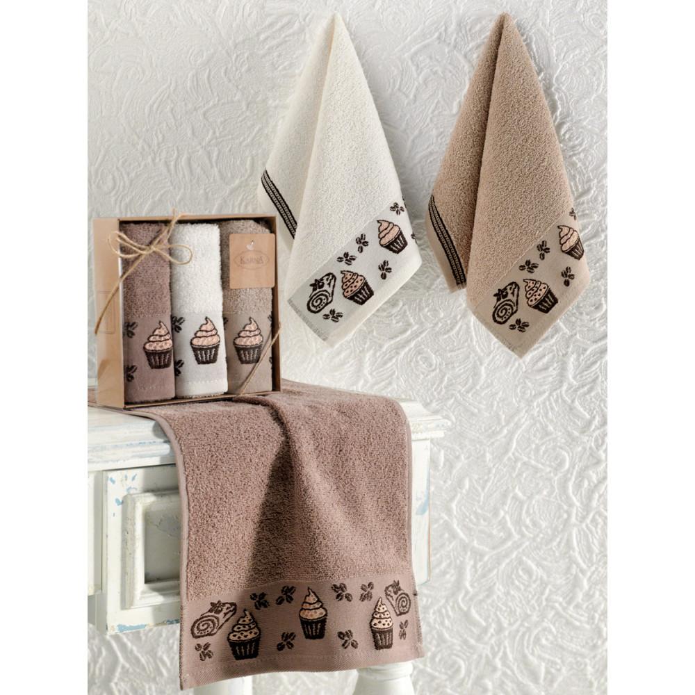 Кухонные полотенца махровые
