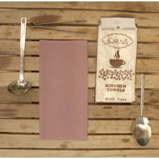 Салфетки вафельные MEDLEY 40x60 см 1/2 - Грязно-розовый