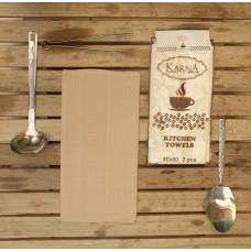Салфетки вафельные MEDLEY 40x60 см 1/2 - Бежевый
