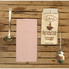 Салфетки вафельные MEDLEY 40x60 см 1/2 - Розовый