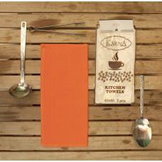 Салфетки вафельные MEDLEY 40x60 см 1/2 - Оранжевый
