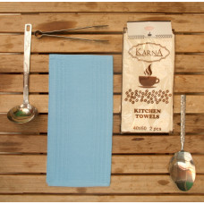 Салфетки вафельные MEDLEY 40x60 см 1/2 - Голубой